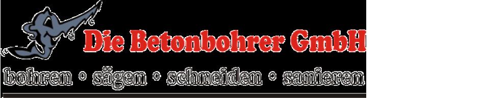 Die Betonbohrer GmbH Logo